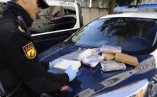 Detenido tras ser sorprendido con diez kilos de cocaína en el maletero
