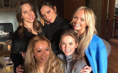 Las Spice Girls, otra vez juntas