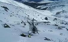 La Guardia Civil rescata a un montañero en el pico Valdecebollas