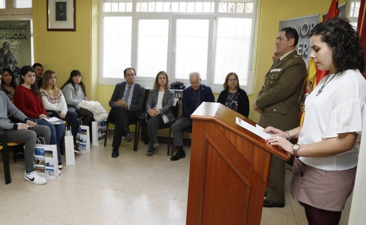 Entrega de los premios 'Carta a un militar español'