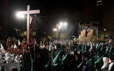 Cristo y su madre volvieron a encontrarse en Ávila