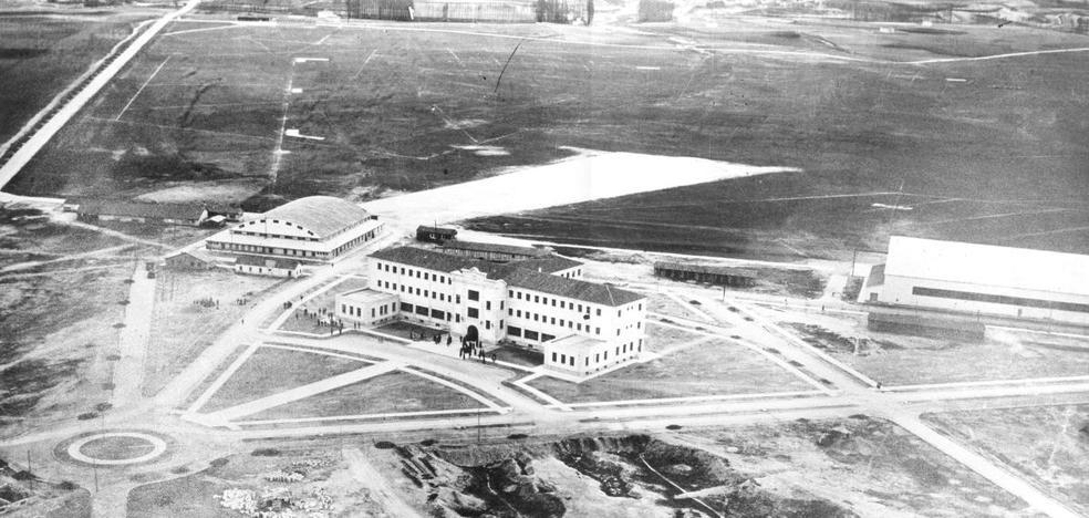 80 años de vuelos sobre el páramo de villanubla