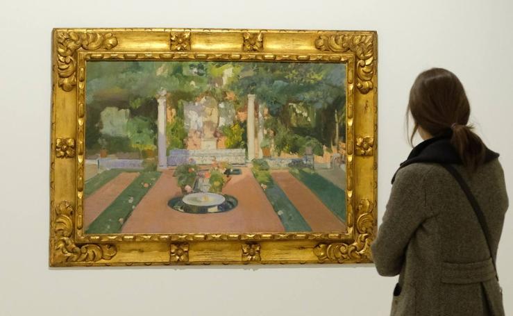 Exposición de Sorolla en el Museo Patio Herreriano de Valladolid