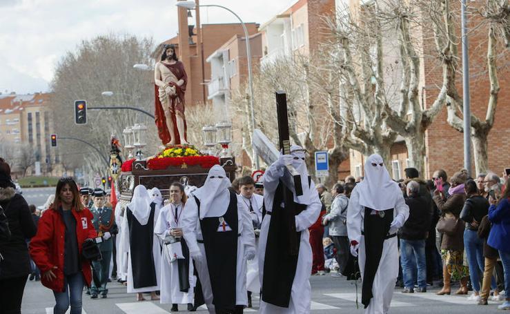 Procesión del Vía Crucis de San Bernardo en Salamanca