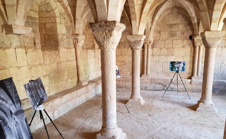 'Renacer, un antes y un después' en el monasterio de la Zarza