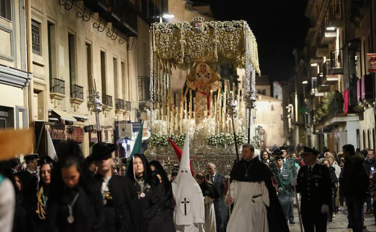 Procesión de la Hermandad Dominicana en Salamanca