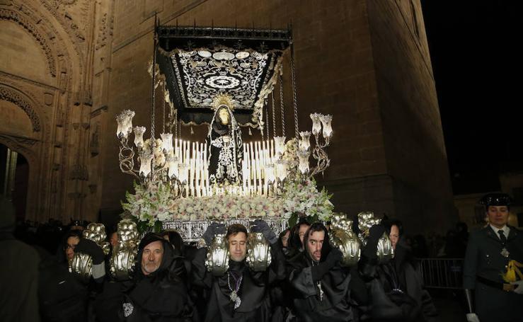 Procesión de Nuestra Señora de la Soledad