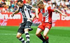 El Girona no puede con el mejorado Levante de Paco López