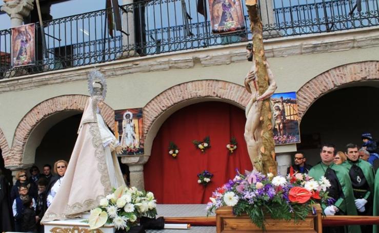 Domingo de Resurrección en la provincia de Valladolid