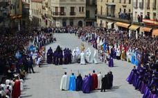 Concluye la Pasión de Miróbriga con solo una procesión cancelada por el tiempo