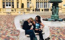 María Patiño y Mila Ximénez presumen de vacaciones en el balneario de Medina del Campo