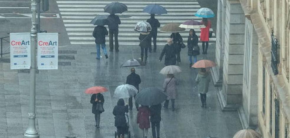 Lluvias y viento en la primera quincena del mes de abril