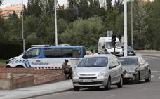 Los atestados por accidentes de tráfico caen un 24% en cinco años