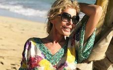 Bibiana Fernández muestra una exagerada delgadez