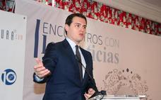 Albert Rivera asegura en los 'encuentros con leonoticias' que su objetivo es ganar «en León y en Castilla y León»
