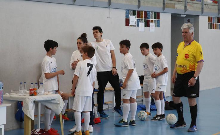 Torneo de fútbol sala en favor de Aspace en Aldeatejada