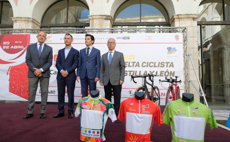 Presentación de la XXXIII Vuelta Ciclista a Castilla y León