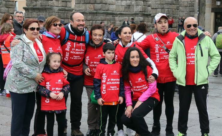 Marcha de la Cruz Roja en Segovia