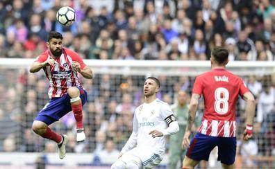 Oblak consolida el segundo puesto del Atlético en el Bernabéu