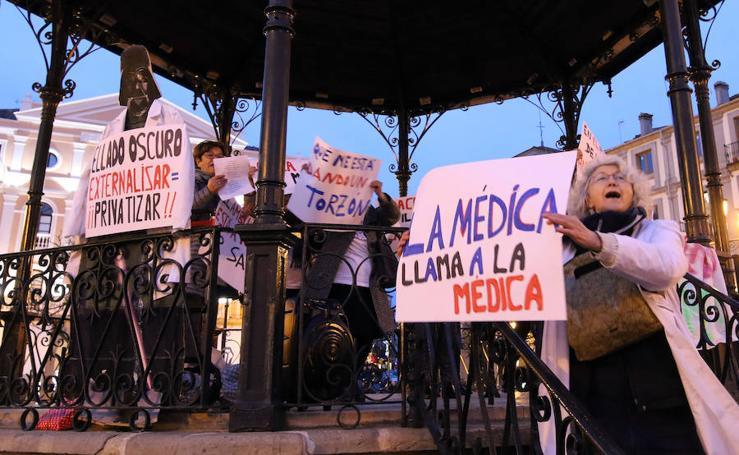 Reivindicaciones en el Día Mundial de la Salud en Segovia