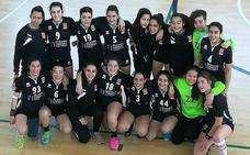 Las cadetes del BM Salamanca se clasifican para la fase final del Campeonato de Castilla y León