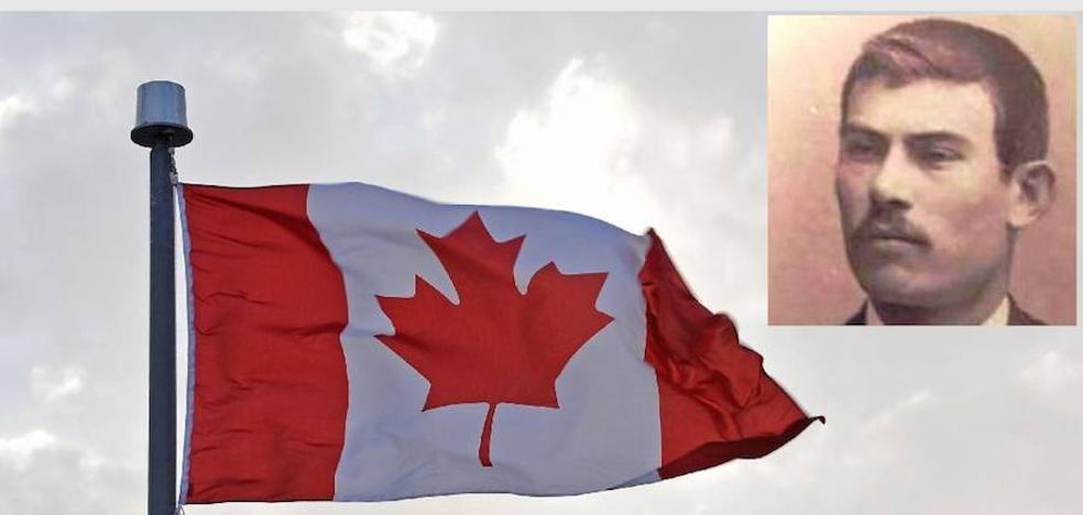 Desde Canadá hasta Soria para recoger los restos de su abuelo