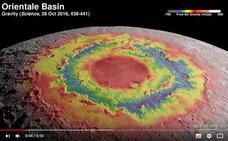 La NASA lanza un vídeo que permite sobrevolar la Luna en 4K