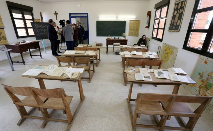 La escuela del ayer regresa a San Román de Hornija