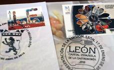 Récord absoluto de ventas del sello de León que por error incluye una imagen de la catedral de Burgos