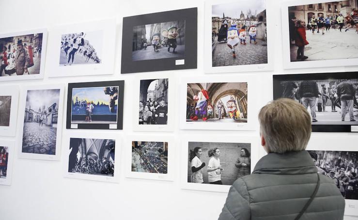 Inauguración de la exposición del 'XXIV Concurso Fotográfico San Silvestre Salmantina'