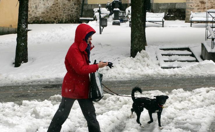 La provincia de Segovia afectada por la nieve y el frío