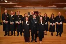 Tres nuevos jueces se incorporan a los tribunales de Castilla y León
