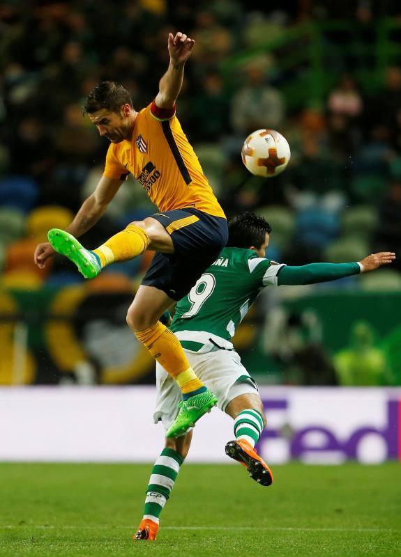 Las mejores imágenes del Sporting-Atlético