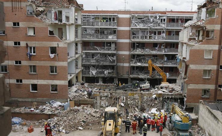 Las imágenes de la tragedia de Gaspar Arroyo en Palencia