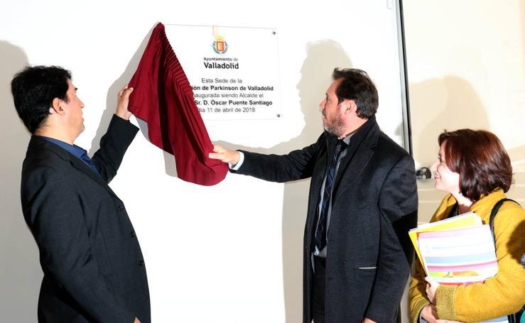 Inauguración del nuevo centro de atención a personas con párkinson en Pajarillos