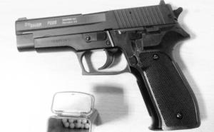 Intervienen una réplica de pistola a un joven de 21 años en el barrio de Las Delicias