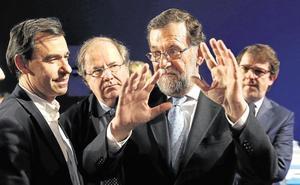Rajoy, Maíllo y Mañueco clausuran la convención del PP en Zamora