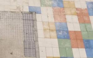 El PSOE califica de chapuza el arreglo de las plazas interiores del barrio de San José