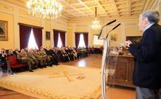 El orgullo veterano se cita en la Academia de Artillería