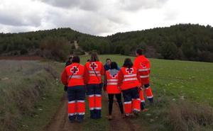 La búsqueda de Violeta en Puentedura se refuerza con un helicóptero de la Guardia Civil
