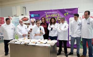 La vallisoletana Sheila García, ganadora del III Concurso Nacional de Jóvenes Cocineros en Palencia