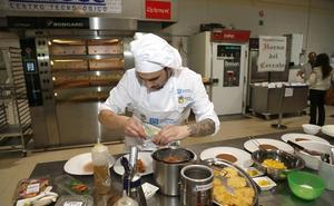 Seis jóvenes cocineros se disputan el título nacional del concurso de Alimentos de Palencia