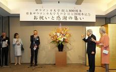 Los emperadores de Japón revelan su «gran cariño» hacia la USAL
