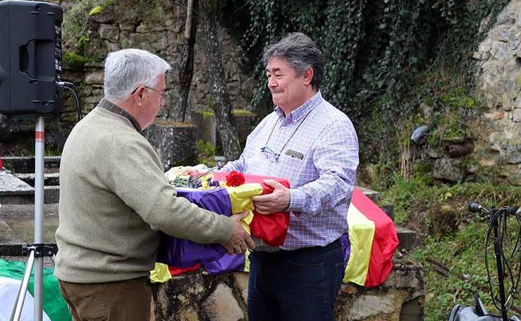 Entrega de los restos de cuatro represaliados en Valdenoceda