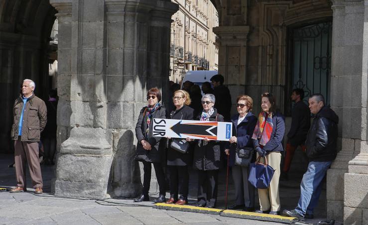 Abrazo solidario de Manos Unidas en Salamanca
