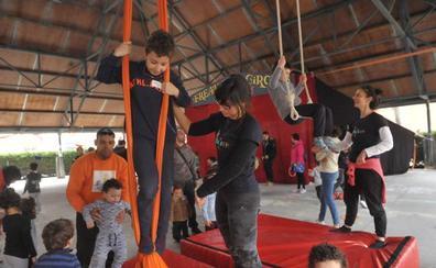 San Pedro Regalado festeja el Día del Circo «con fines inclusivos»