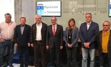 La Diputación renueva su apoyo a los grupos de acción local con una ayuda de 300.000 euros