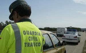 La DGT tramitó el año pasado 86 multas por conducir sin carné en las vías de la provincia de Palencia