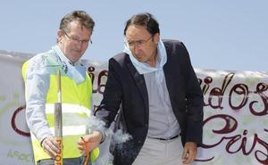 El alcalde de Palencia afirma que recibirá con «deportividad» el Cristo de la Tristeza