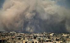 Didáctica balística en Siria